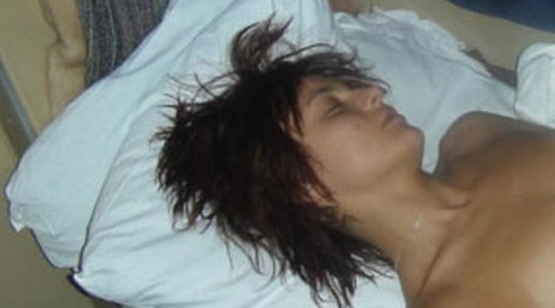 girl sleeping nude