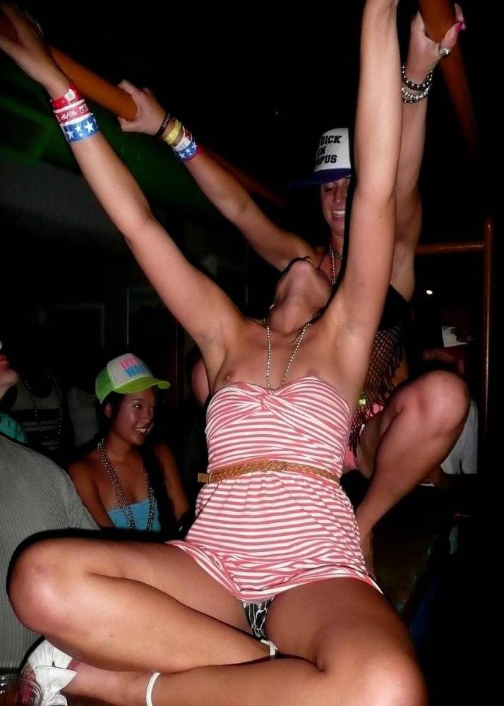 drunk girl nipslip